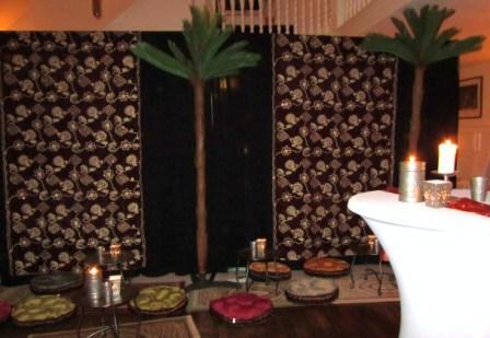Decorverhuur decoratie decors tropische decoratie oosterse